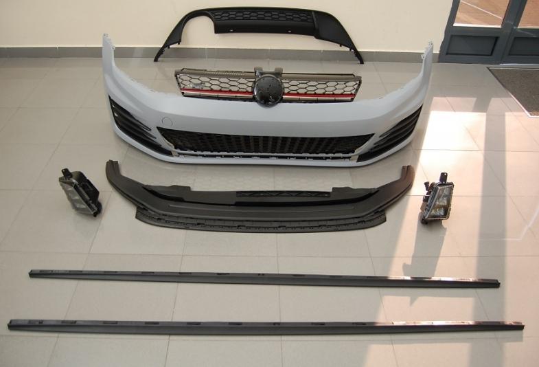 kit de carrosserie volkswagen golf vii gti abs sp newconcept. Black Bedroom Furniture Sets. Home Design Ideas