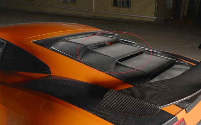 Fibre Rear Spoiler For Lamborghini Gallardo Lp550 Lp560 Lp570 Sp