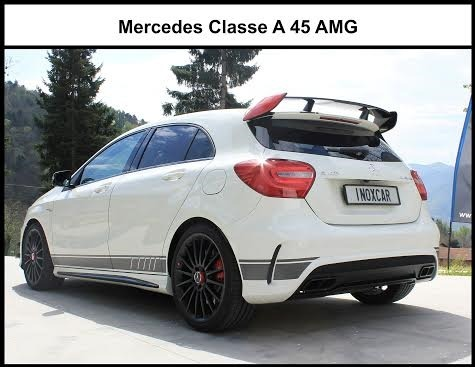 silencieux arri re tube pour mercedes classe a 45 amg 2 0 367 ch 2013 sp newconcept. Black Bedroom Furniture Sets. Home Design Ideas