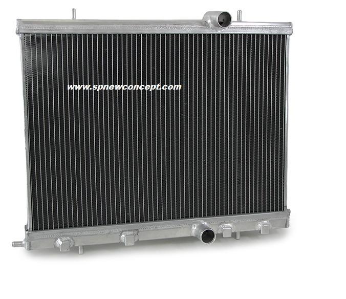 radiateur d 39 eau alu racing 206 s16 rc sp newconcept. Black Bedroom Furniture Sets. Home Design Ideas