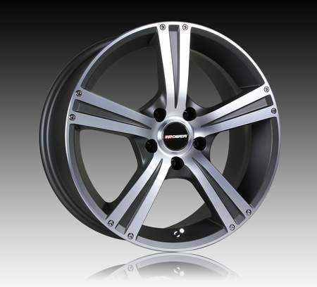 JANTE +POWER TWIN FIVE ANTHRACITE 8.0X18/5X100 ET38