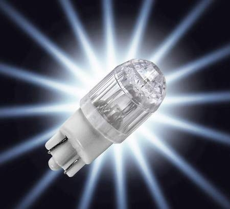 2 ampoules T10 HYPER DIMPLE PIAA SUPER LED, H-407