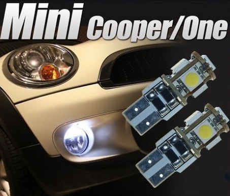 Pack Mini Cooper feux de position led 5050 SMD ODB
