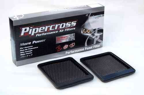 Filtre à air sport (haute performance) Pipercross (2 pieces) pour NISSAN SKYLINE  GT-R R35