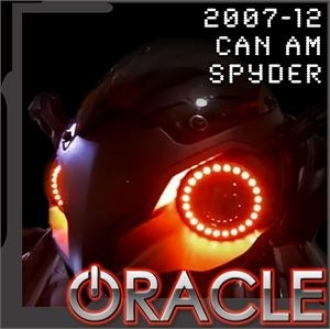 KIT Halo Oracle pour CAN-AM Syder 2007-2012 vert LED SMD