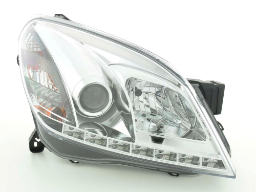 Paire de Phares Daylight pour Opel/Vauxhall Astra (type H) chrome