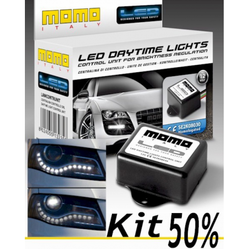 Kit on/off 50% pour DRL & phare de jour