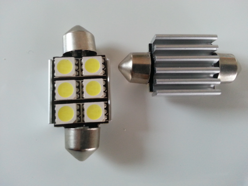 Pack Audi A4 B6 plaques d'immatriculation 12 led 5050 SMD