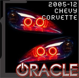 Kit HALO LED Oracle pour Chevy Corvette C6 2005-2013