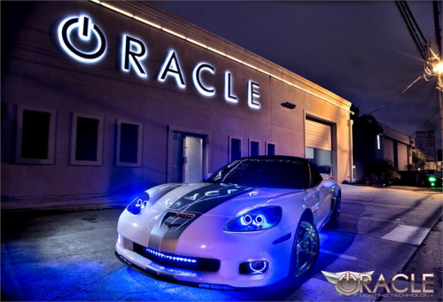Kit HALO LED ou CCFL anti brouillard  Oracle pour Chevy Corvette C6 2005-2013