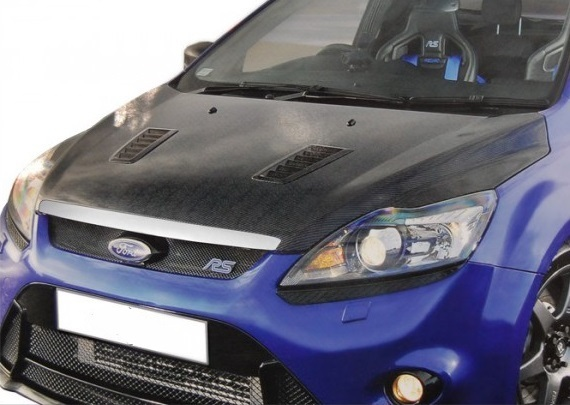 carbon hood ford focus rs 08 sp newconcept. Black Bedroom Furniture Sets. Home Design Ideas