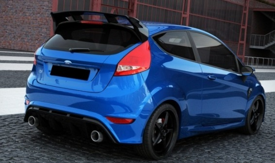 spoiler aileron pour ford fiesta 2009 style rs sp newconcept. Black Bedroom Furniture Sets. Home Design Ideas