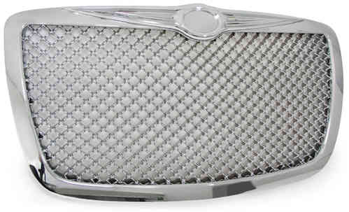 calandre chrysler 300c 04-11 nid d'abeilles chrome style BENTLEY