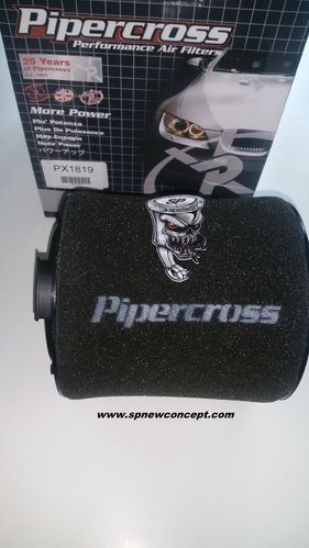 Pipercross high performance sport air filter for Audi A1 Length 157mm x Width 74mm x Height 170mm
