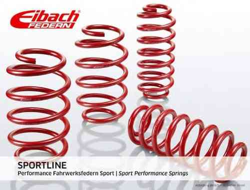 Eibach Sportline lowering springs-for Opel Corsa D