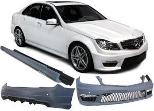Kit carrosserie Mercedes C W204 look C63 AMG
