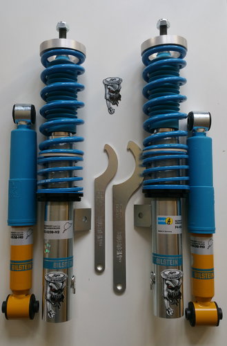 Kit Bilstein B14 coilover dampers for Peugeot 206