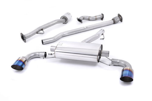 Ligne avec suppression catalyseur TOYOTA GT86 2.0 litre Subaru BRZ