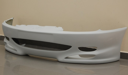 FRONT BUMPER PEUGEOT 406 COUPE WITH GRID