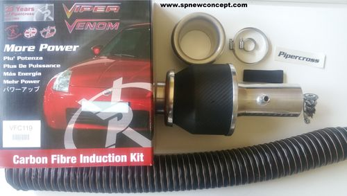 Kit admission dynamique Pipercross viper carbone Peugeot 306