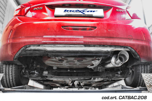 CAT-BACK SYSTEM InoxCar Peugeot 208 GTi 1.6 16V TURBO (200cv) 2013–