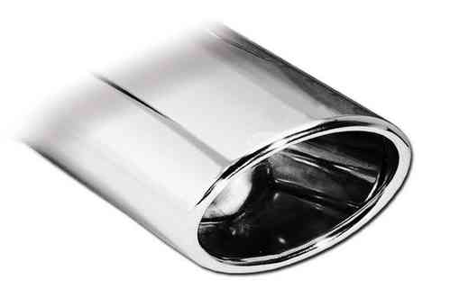 Embout d'échappement inox OVAL 150x105mm (CHROMO) INOXCAR