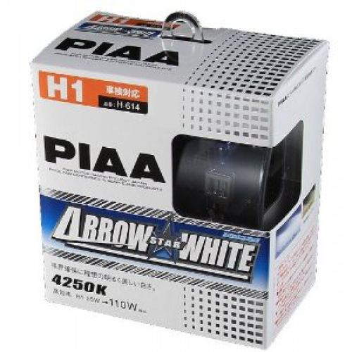 2 AMPOULES PIAA ARROW STAR WHITE H1 12V 55W -> 110W