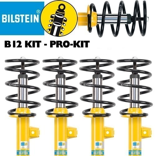 kit suspensions bilstein b12 avec ressorts courts eibach. Black Bedroom Furniture Sets. Home Design Ideas