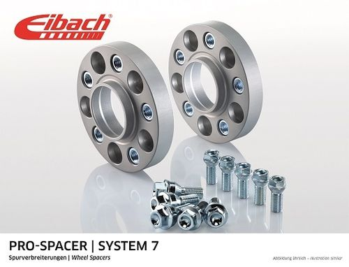 widen track pair Eibach Double bolting for Punto, adam, corsa A, B, C, D, Astra.
