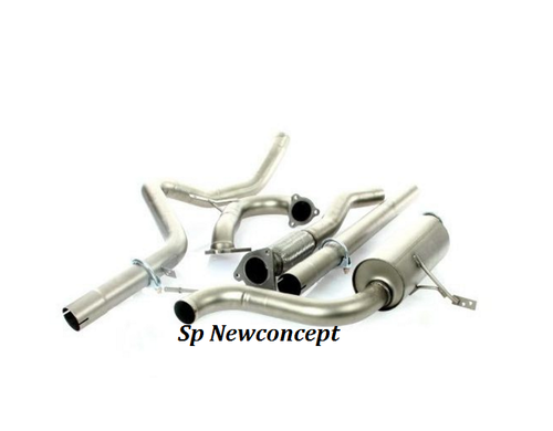 Exhaust line Sp Newconcept Group N for RENAULT Megane III RS 250 hp sanded finishes