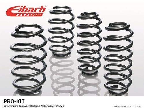 Ressorts courts Eibach Pro-Kit  pour Seat Exeo ST (3R) (break), Audi A4 (8ED) Avant (break)