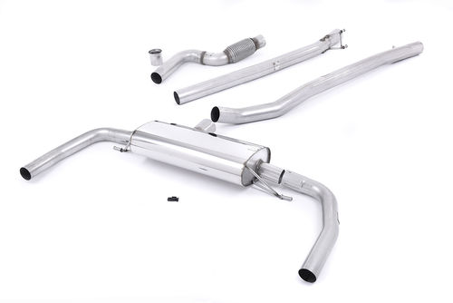 Half line / Cat-back Milltek Non Valved for CLA-Class AMG CLA45