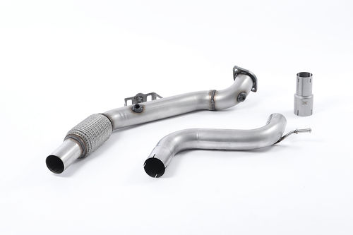 Downpipe + decata Milltek pour Mustang 2.3 EcoBoost (Fastback)