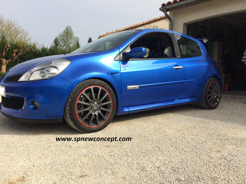 H/&r Ressorts ABE 45 mm 29140-6 Renault Clio C Facelift Abaissement Ressorts De Sport