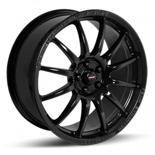 "Team Dynamics Pro Race 1.2, 17x7"", Noir / Brillant"