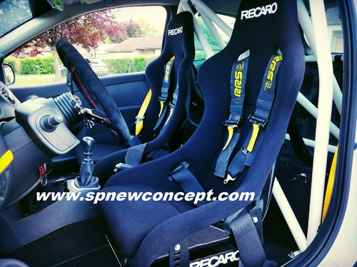 Bucket RECARO Pole Position ABE fabric version