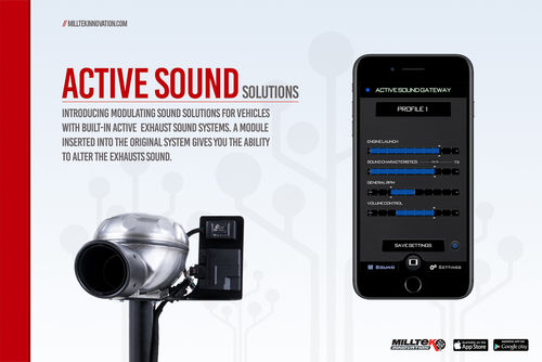 Active Sound Control Bluetooth pour AUDI