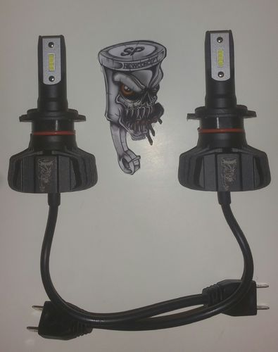 High Power LED Kit H7 9000 Lumen Größe Mini