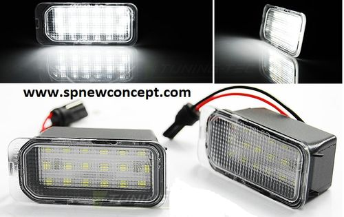 ECLAIRAGE DE PLAQUE LED Ford, C-MAX, FIESTA MK7, FOCUS, MONDEO...