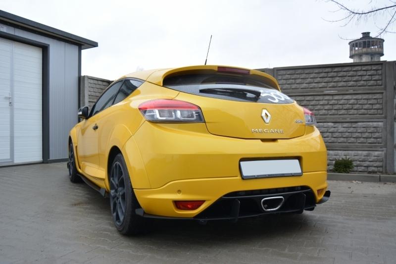 Rear Bumper Blade Renault Megane 3 Rs Sp Newconcept