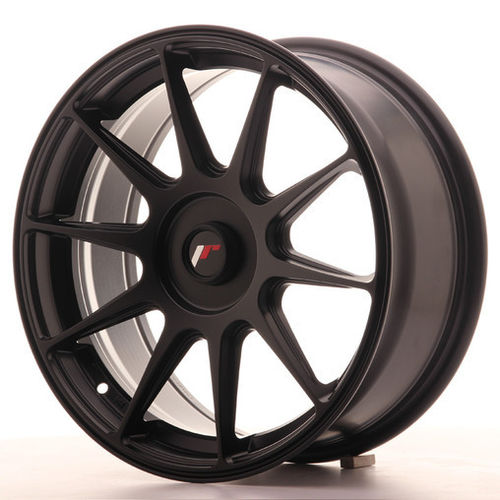 "4 Japan Racing JR-11 17x7.25"" 4 * 108 ET35, Noir Mat / Satiné"