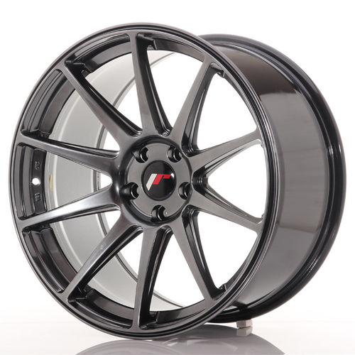 "Japan Racing JR-11 Extreme Concave 19x9.5"" 5x112 ET35, Hyper Black"
