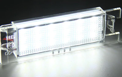 Pack de 2 modules led plaque immatriculation Alfa Romeo
